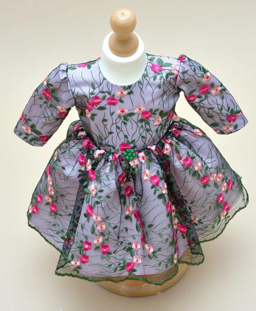 Rochie de botez Ayana - Couture Bebe Dantela