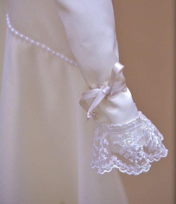 Rochie de botez catolica dantela