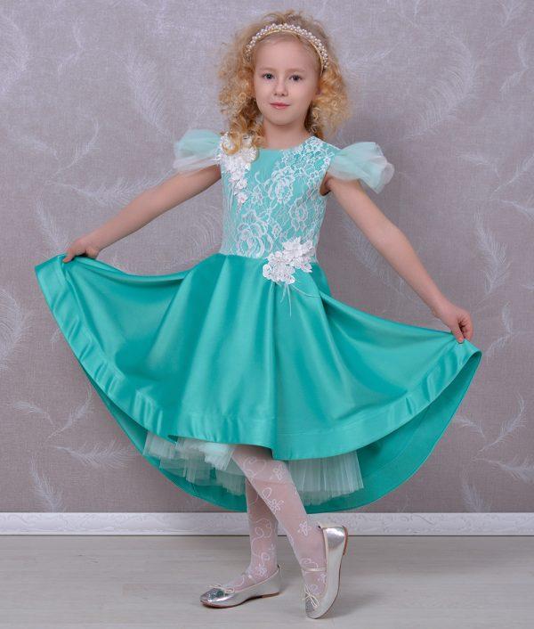 Rochie de ocazie copii spectaculoasa Salma