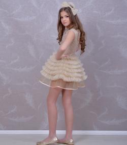 Rochie de ocazie fete Lucille pietre