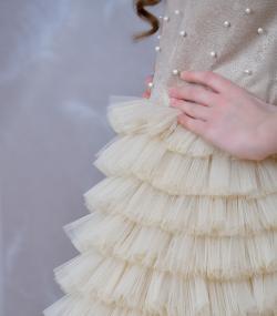 Rochie de ocazie fete Lucille tull fin