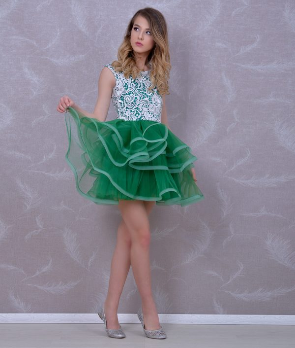 Rochie ocazie fete lisa verde