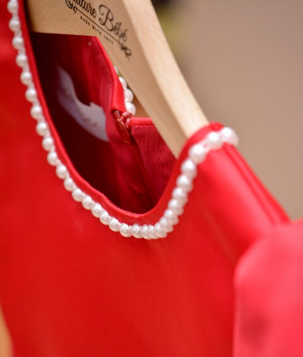 Rochita de ocazie cu perle