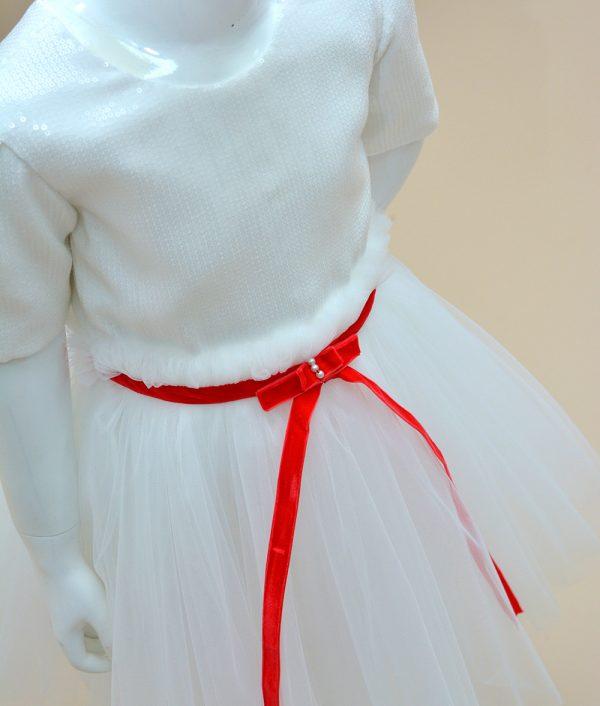 Rochita de serbare Craciun Joy Couture Bebe 3
