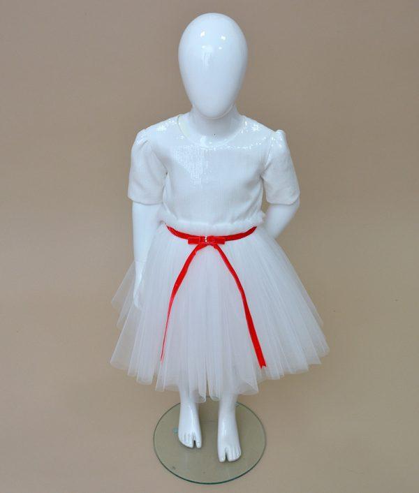 Rochita de serbare Craciun Joy Couture Bebe 4