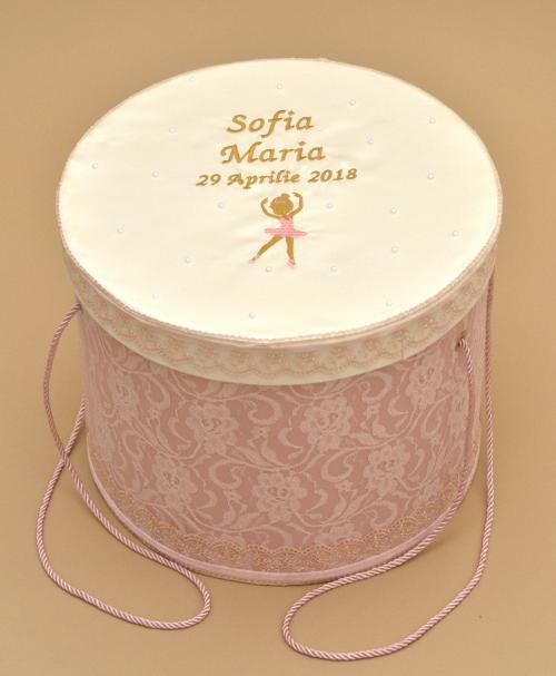 cutie trusou botez micuta balerina