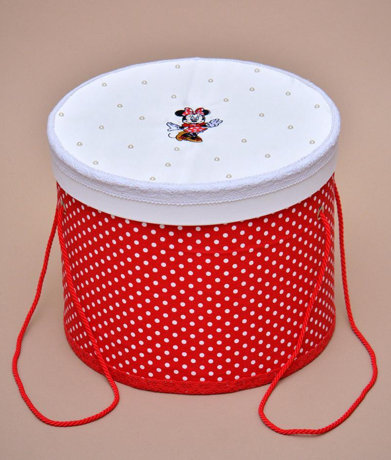 cutie trusou botez minnie mouse rosu