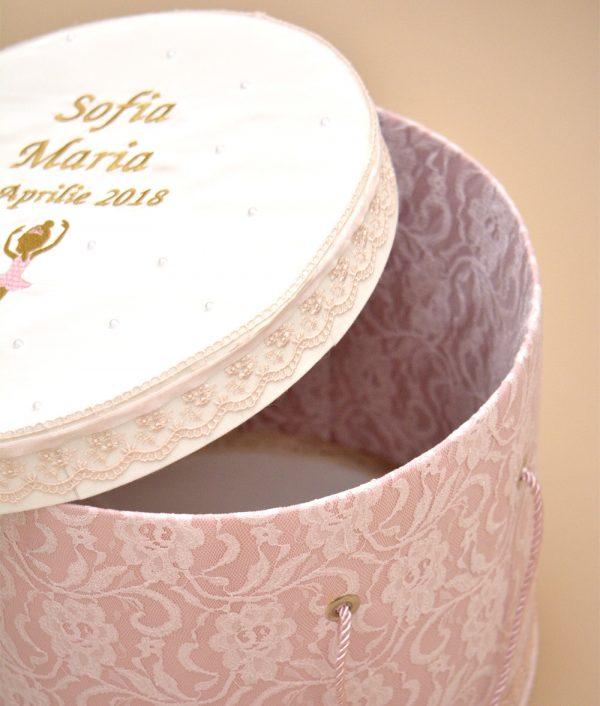 cutie trusou de botez micuta balerina