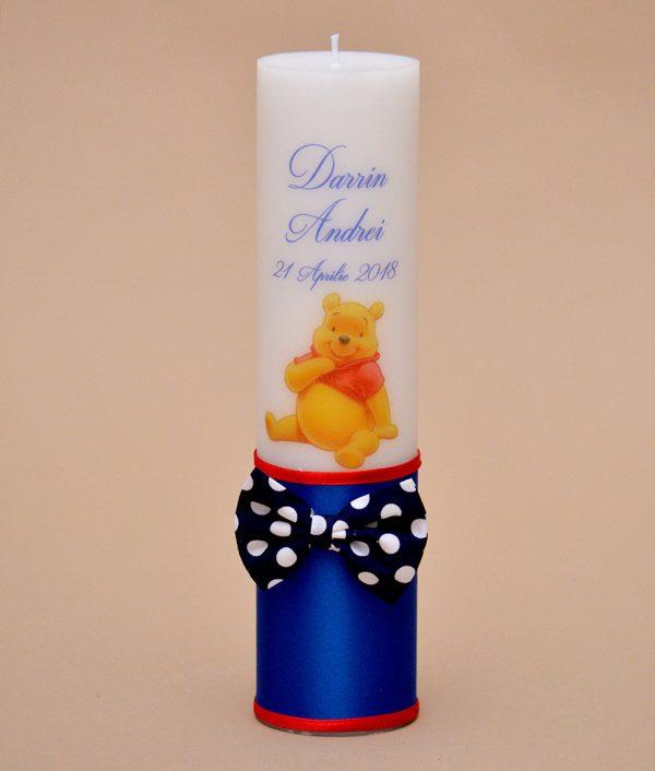 lumanare de botez winnie the pooh
