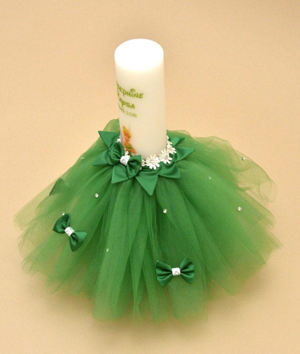 lumanare tinkerbell verde