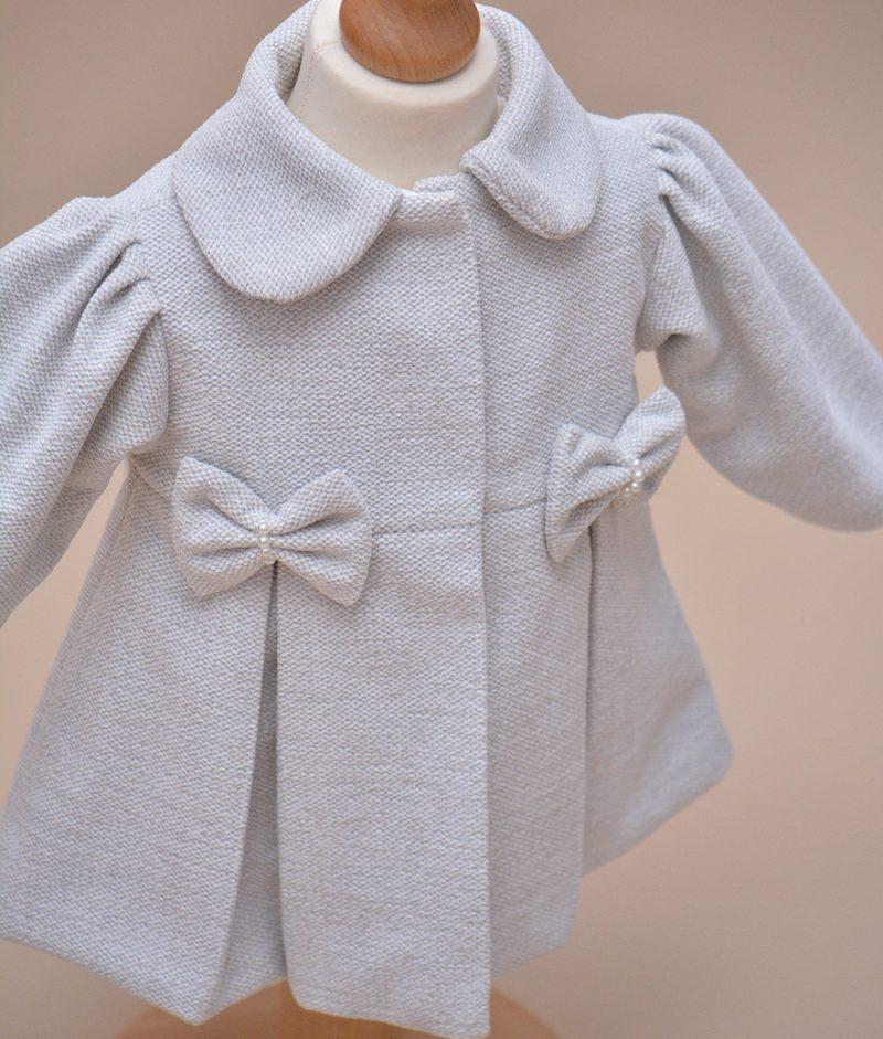 palton fete gri