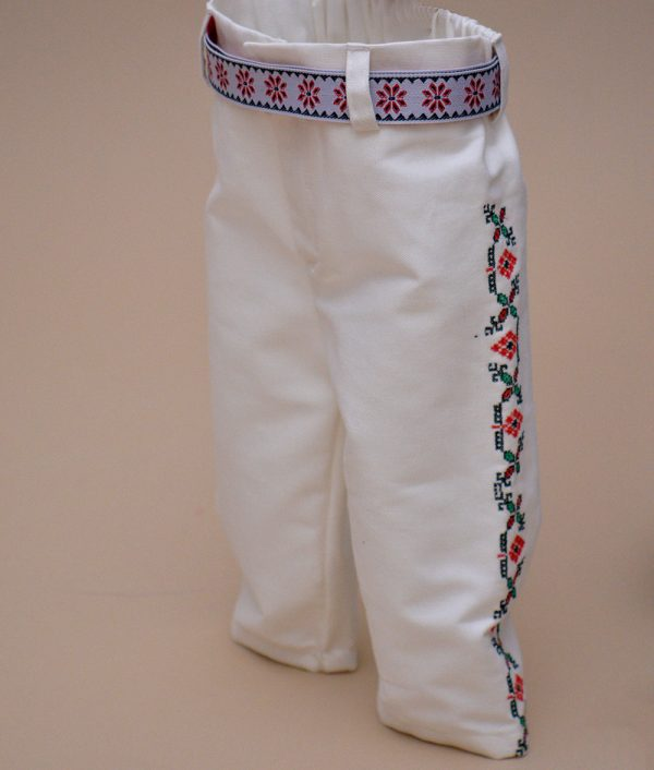 pantaloni botez traditional