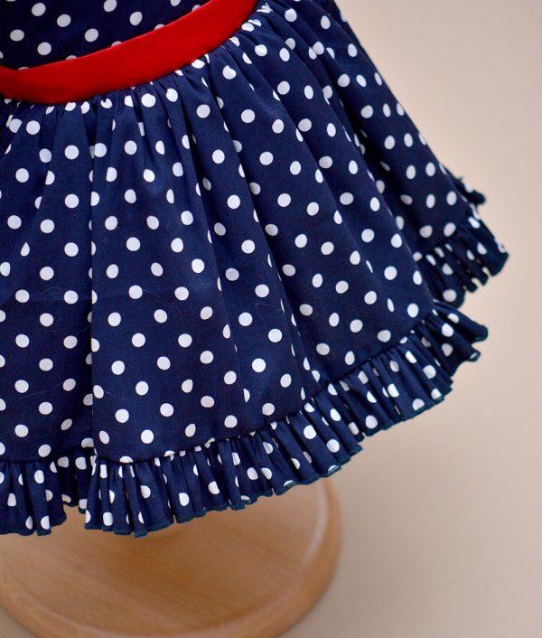 rochie botez albastra Aimee