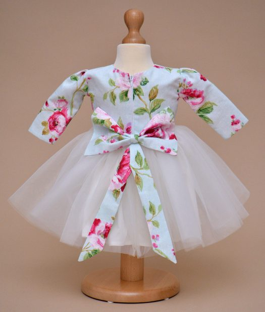 rochie botez flori Cleo