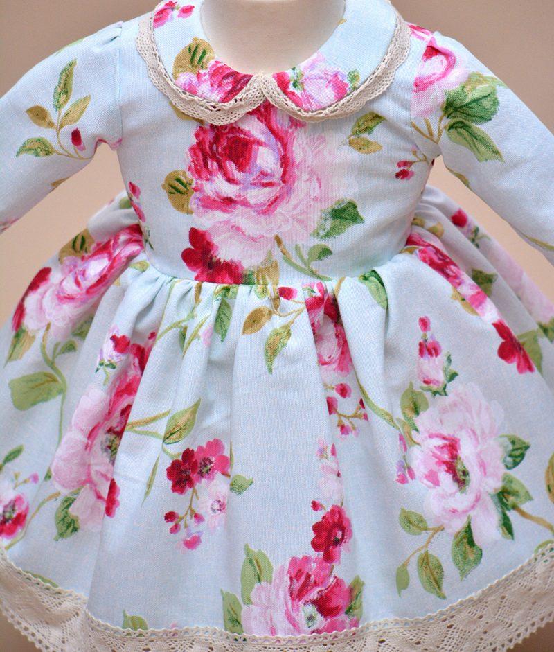 rochie botez flori Denise