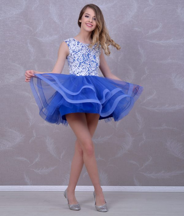 rochie de ocazie fete Roberta tull fin