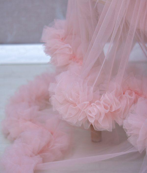 rochie fete Dollie volane tull
