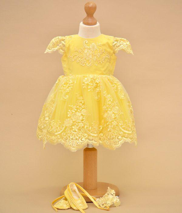 rochita de botez galbena