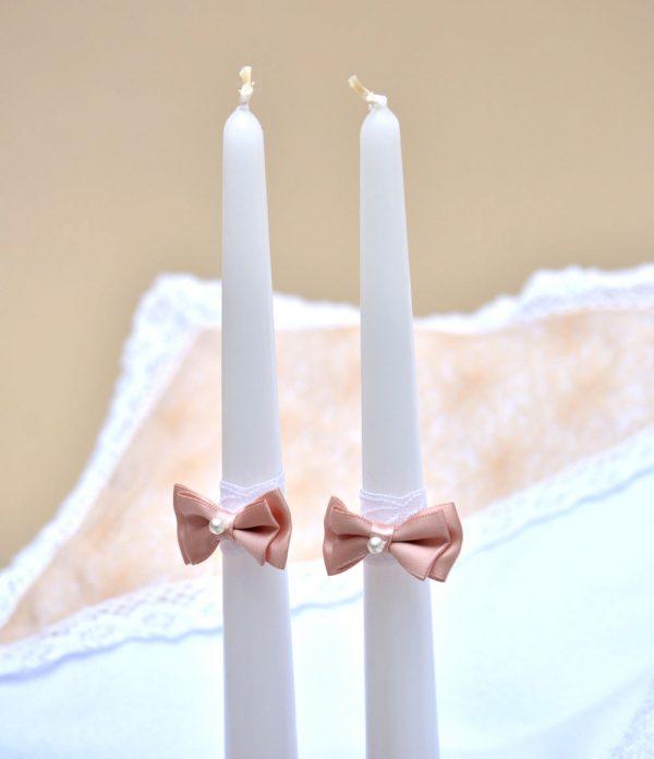 Trusou botez biserica piersica lumanare