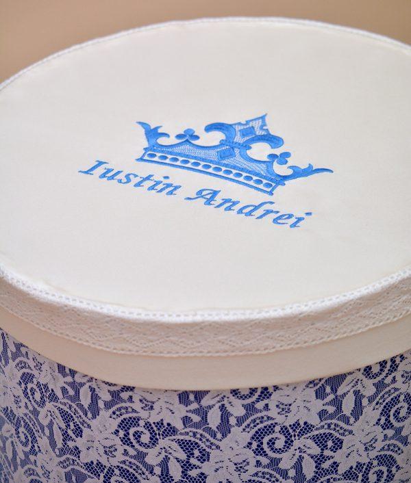 Trusou botez coroana albastra