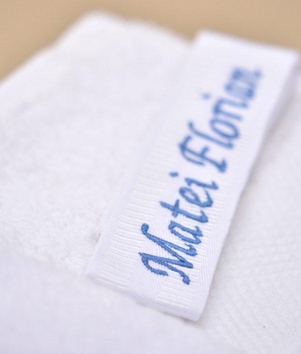 trusou botez personalizat alb albastru mickey fotbalist