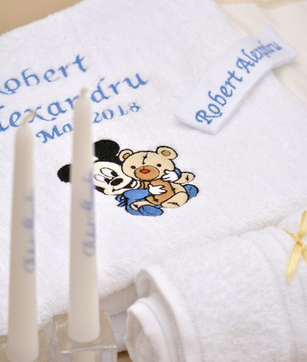 trusou personalizat mickey bebelus